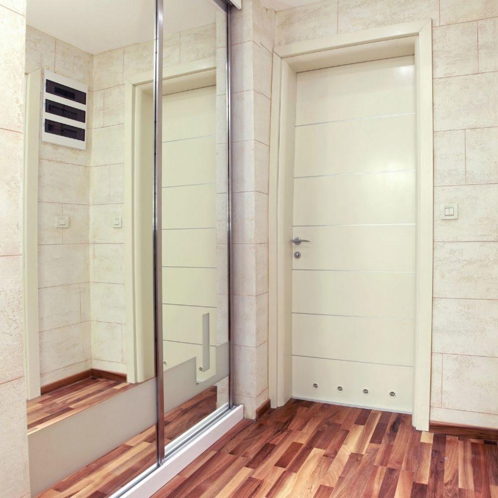 Drzwi wewnętrzne łazienkowe