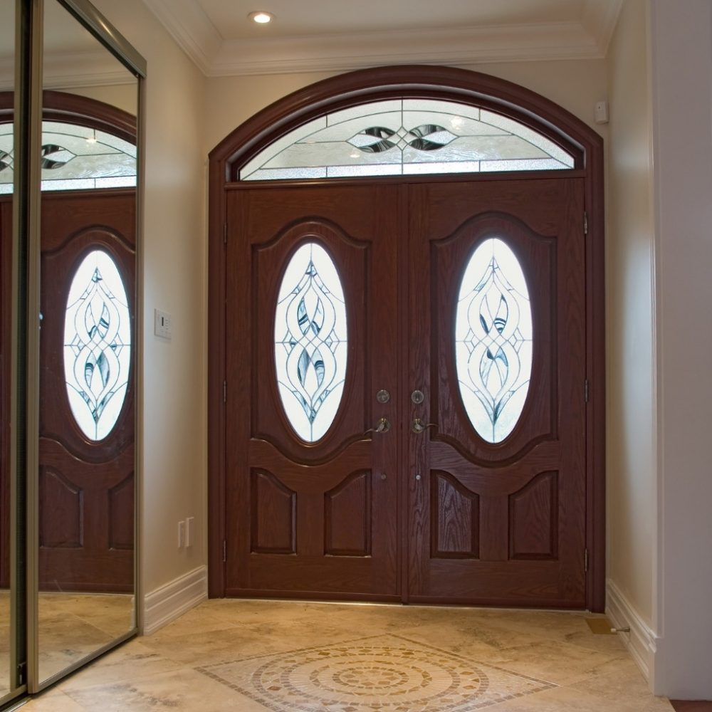 Drzwi zewnętrzne do domów i mieszkań